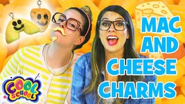 DIY Mac and Cheeese BFF Necklaces! Charm Necklaces - Crafty Carol and Ms Booksy - Crafts for Kids