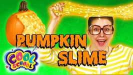 DIY Oozing Pumpkin Guts - Halloween Slime With A Real Pumpkin - Arts And Crafts With Crafty Carol