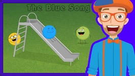 The Blue Song - Colors Song for Kids