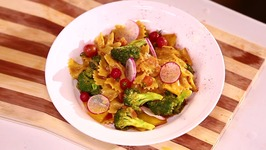 Pasta Sabzi Salad - Recipe By Chef Ranveer Brar - Yummy And Quick