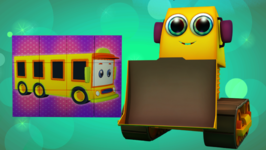 School Bus - Kids' Learning Puzzles