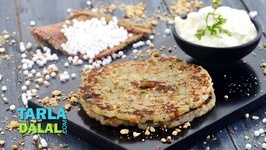 Sabudana Thalipeeth, Faraal Recipe, Upvas Vrat Recipe