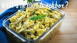 Cheats Chicken Pesto Pasta Salad