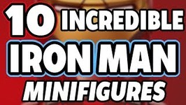 10 Incredible Custom Iron Man Minifigures