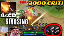 SingSing Sniper 3000 DAMAGE CRIT Dota 2