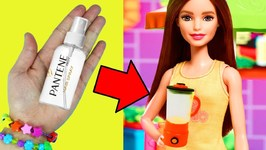 10 Amazing Barbie Doll Hacks - 7 - Easy Doll Crafts In 5 Minutes or Less