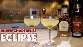 Eclipse2 - Cocktail 2 Ways Angostura 1919 Rum And Chartreuse