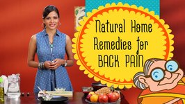 Natural Home Remedies For Back Pain  Lower Back Pain Relief - Backache Exercise and Treatment