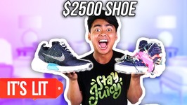 40 Dollars SHOE VS 2500 Dollars SHOE