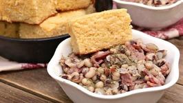 Southern Black Eyed Peas w/ Bacon