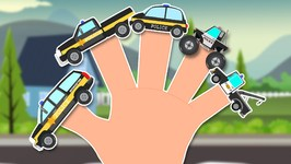 Police Vehicles Finger Family - Police Vehicles - Cops Car - Family Song