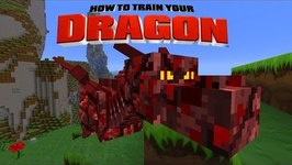 Minecraft - HOW TO TRAIN YOUR DRAGON - Dragon Race! 43