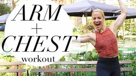 Best Arm And Chest Workout For Women - Summer Slimdown Arm Workout