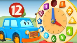 Clever Cars Baby Cartoons: Learn Numbers 1-12 with Learning Toys for Toddlers