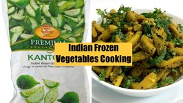 Indian Frozen Vegetable Cookin Kantola Shaak Kankoda Spine Teasle Gourd