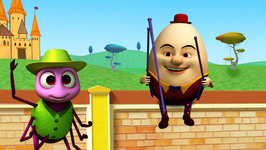 Humpty Dumpty-Children's Popular Nursery Rhymes