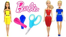 Diy Barbie Dresses With Balloons Making Easy No Sew Clothes For Barbie Fun And Creative For Kids
