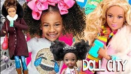 The Call 1  Vanessa gets on the phone with Naiah and Elli Doll Show  Ep 13