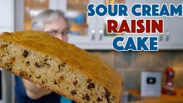 1936 Sour Cream Raisin Cake