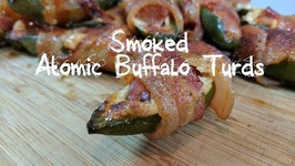 Pit Barrel Cooker Jalapenos Poppers / How To Smoke Atomic Buffalo Turds / PBC Grilled ABTs