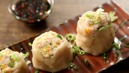 Chicken Dim Sum Recipe - How To Make Chicken Momos- The Bombay Chef - Varun Inamdar