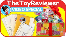 May 2018 Video Special FAN MAIL Shout-outs Giveaway Box Unboxing Toy Review