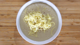 Cauliflower and Cheese Soup - Healthy And Only 3.45 Per Serve