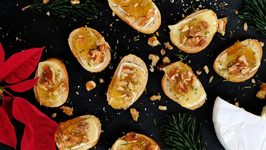 Brie And Fig Crostini