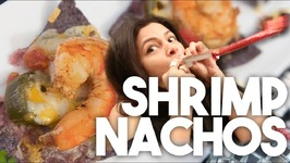 SHRIMP NACHOS - New Years Eve Special