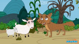 The Wolf And The Seven Little Goats - Panchatantra Stories In English - Educational Videos