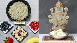 Rava Sheera Prasadam For Puja / Sooji Halwa - Semolina Pudding