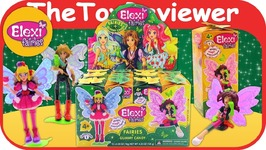 Elexi Fairies Blind Bags Full Case Collect Box Gummy Candy Fresh Toys Unboxing Review