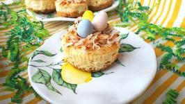 Dessert Recipe-Mini Cheesecake Nests