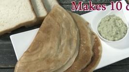 Bread Dosa - Instant Bread Dosa