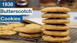 1938 Butterscotch Cookies