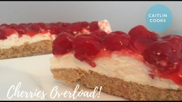 Cherry Pie No Bake Cheesecake