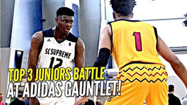 Zion Williamson Vs Romeo Langford Top 2 Juniors Battle It Out At Adidas Gauntlet