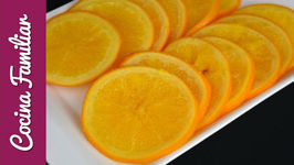 Naranjas confitadas para el roscón de reyes - Recetas caseras