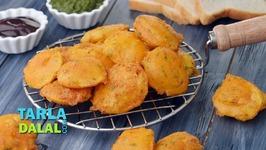 Aloo Pakora - Aloo Bhaji - Potato Pakoda