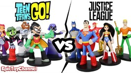 Teen Titans Go Vs Justice League Hero World By Funko A Teen Titans Go Video