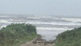 Tropical Storm Cindy Churns Ocean Near Grand Isle, Louisiana
