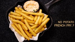Suji French Fries - Easy 10 Min Crunchy Semolina Fry