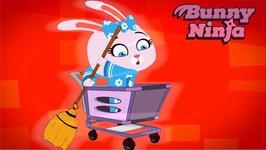 Bunny Ninja Show - Runaway Baby - Kids Series - Cartoon For Kids
