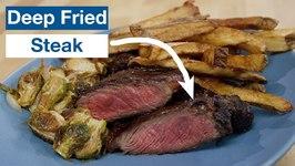 Deep Fried Steak