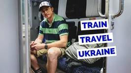 Ukraine Train Ride - 1st Class - from Kiev to Lviv travel vlog