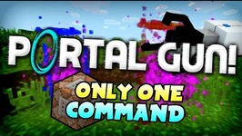Minecraft 1.9 - ULTIMATE PORTAL GUN - Add Teleports To Your World - Minecraft Custom Command