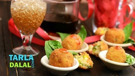 Risotto Balls With Pizza Sauce - Recipe In Hindi