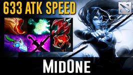 MidOne Mirana MAX Attack Speed Dota 2