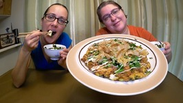 Favorite Japanese Food- Miso Soup And Okonomiyaki /Gay Family Mukbang - Eating Show