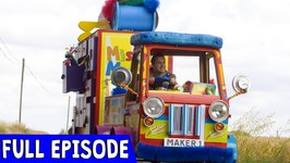 Messy Tape Make - Episode 14 - Full Episode - Mister Maker: Comes To Town